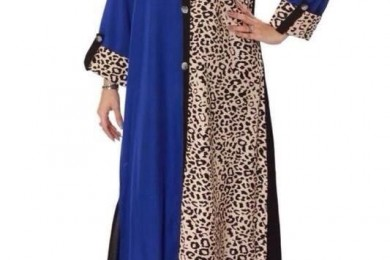 Animal print long kurti