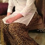 Animal print salwar for summers
