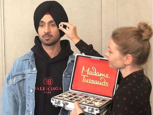 Diljit Dosanjh at Madame Tussaud's