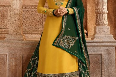 Indian Lehenga Choli Designs for Pre-wedding Functions