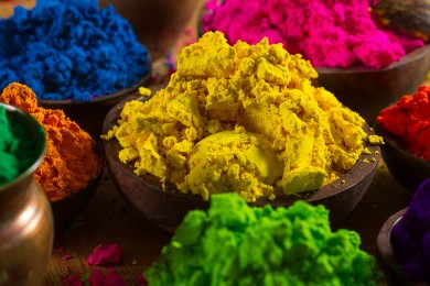 Make Herbal Holi colors at home