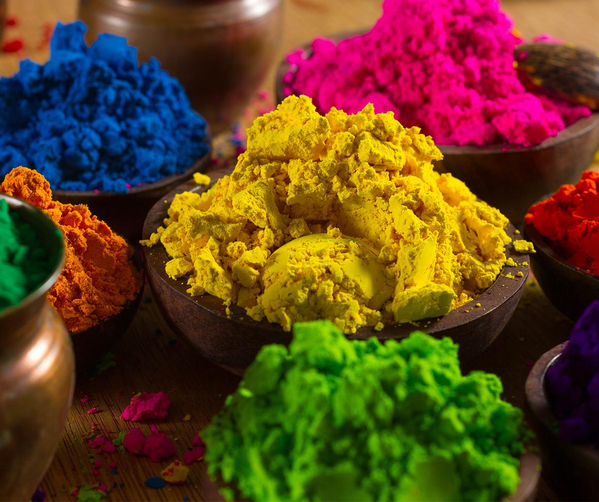 Make Herbal Holi colors at home