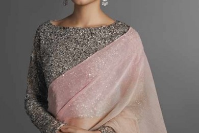 Plain saree blouse designs
