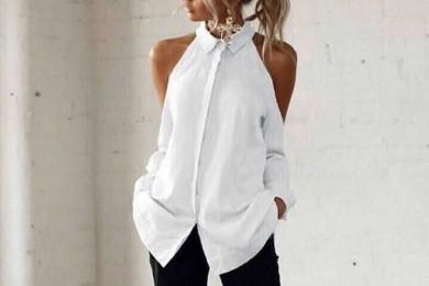 Revamp old white shirt