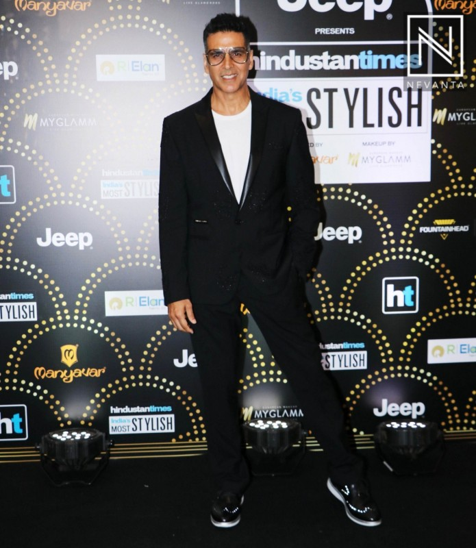 Akshay Kumar at HT India Most Stylish Awards 2019