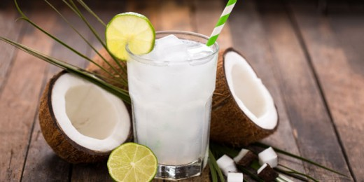 Coconut water and cream juice for summers