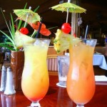 Coconut water fruit punch