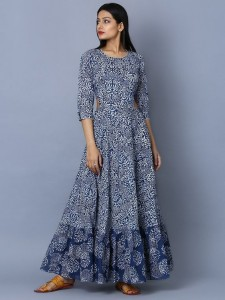 Dresses in Indian Fabrics and Print