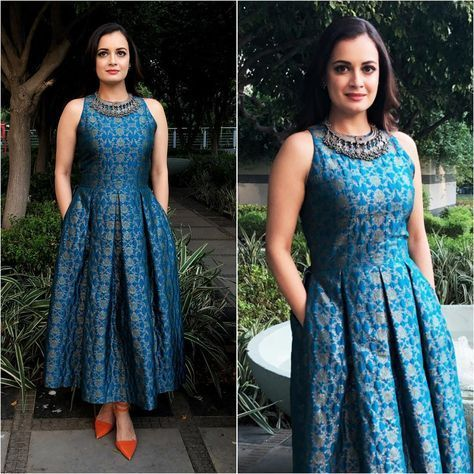 Dresses in Indian Fabrics and Prints