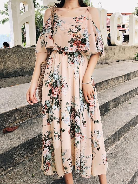 Floral Maxi dress for summers