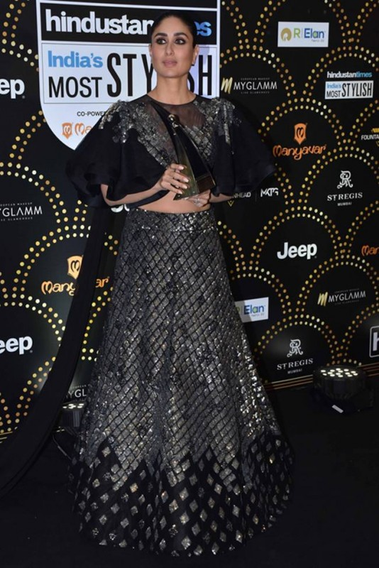 Kareena Kapoor at HT India Most Stylish Awards 2019