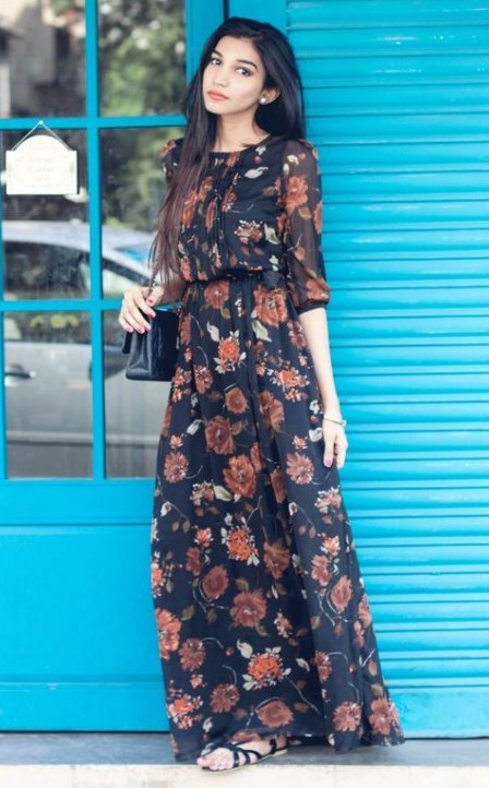 Maxi dress styles for summers