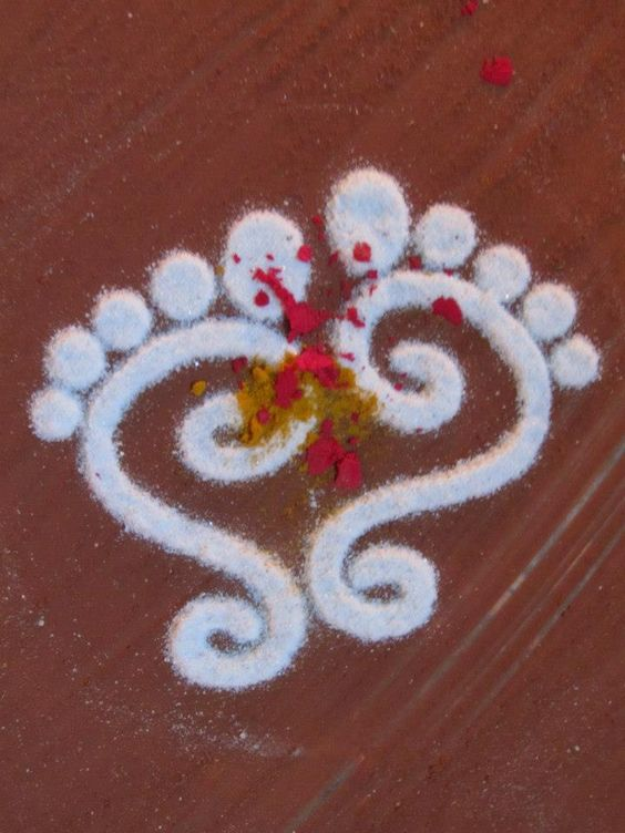 Rangoli design ideas for Navratri