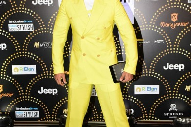 Ranveer Singh at HT India Most Stylish Awards 2019