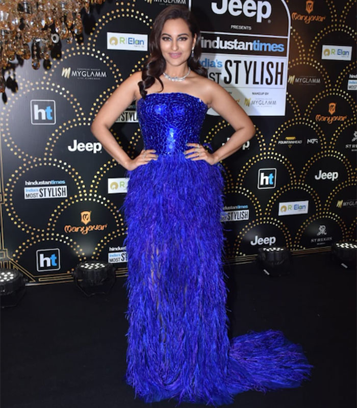 Sonakshi Sinha at HT India Most Stylish Awards 2019