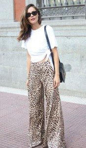 Styling with animal print bottoms