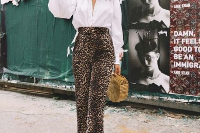 7 Ways To Wear Animal Print Bottoms