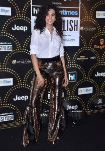 Taapsee Pannu at HT India Most Stylish Awards 2019