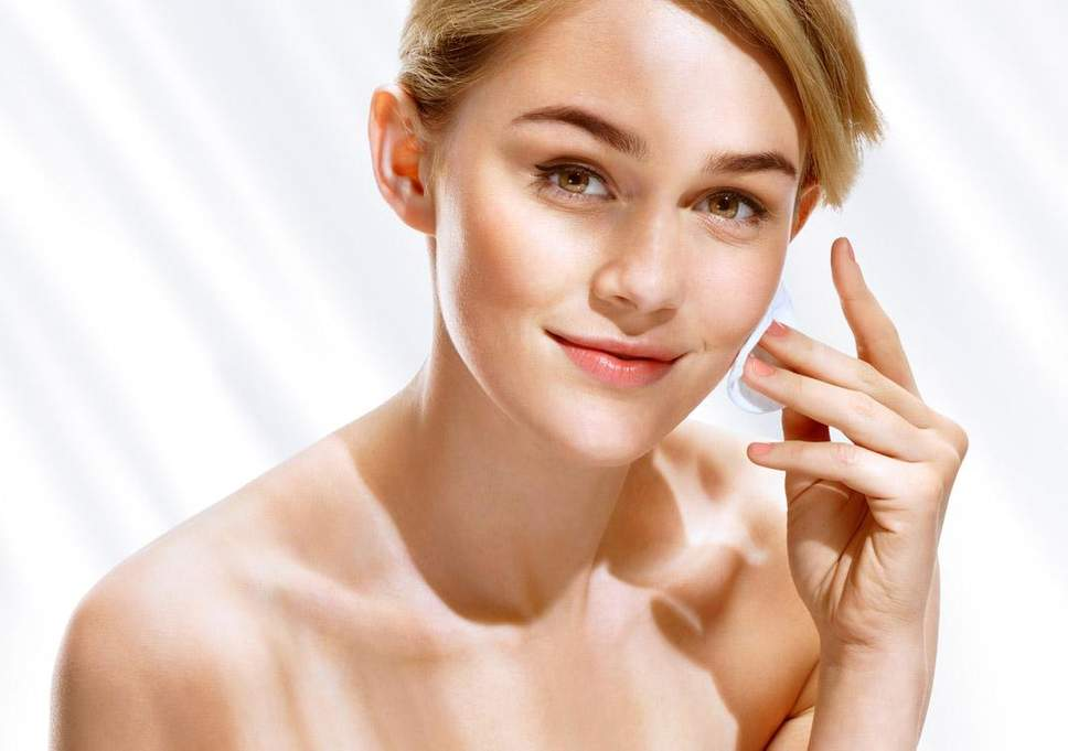 Taking care of facial skin in summers