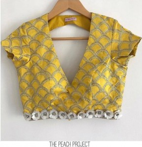V neck Blouse designs
