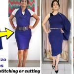 Wear Palazzo As A Dress Without Stitching Or Cutting