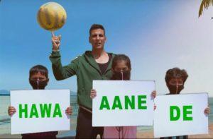 Akshay Kumar in #hawaaanede, world environment day 2019