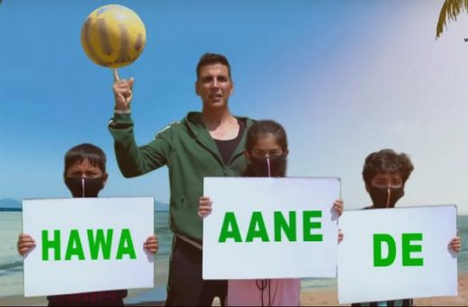 Akshay Kumar in #hawaaanede, world environment day 2019