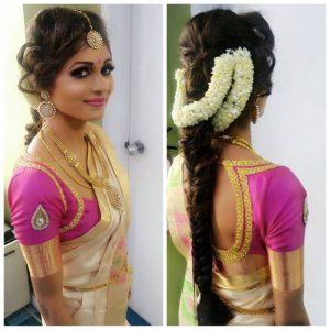 Gajra styles for hair