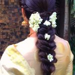 6 Gajra Styles For Plaited Hair