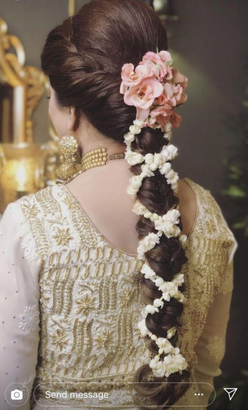 Gajra styles for hair