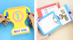 Last minute Father's day card ideas for the kids