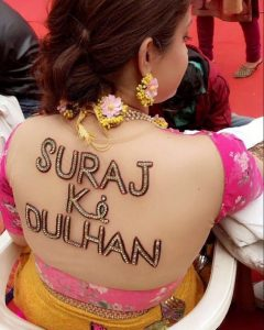 Personalised accessories for Indian weddings