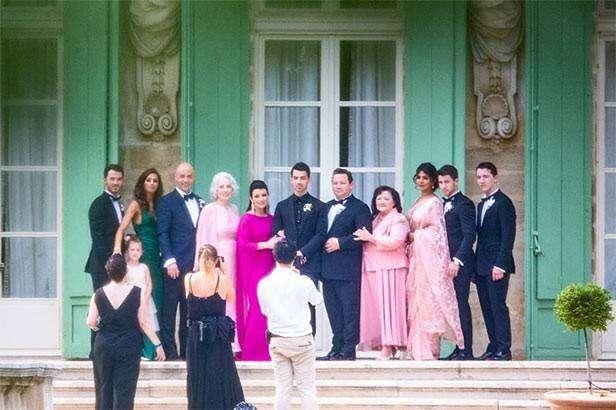 Priyanka Chopra at Sophie Turner and Joe Jonas weddingPriyanka Chopra at Sophie Turner and Joe Jonas wedding