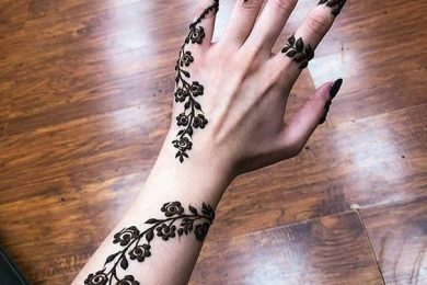 Abstract mehndi designs