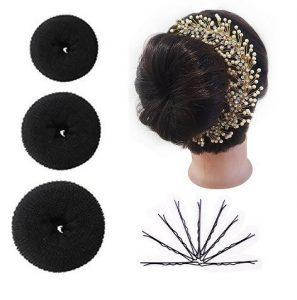 Classic Hairstyle using donut