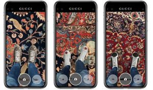 Gucci App allows you to try shoes virtually from anywhere