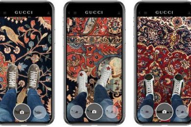 Gucci iOS App Now Allows You To Try Shoes Using Augmented reality