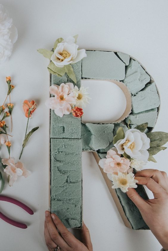 Create Interesting Diy Letters Using These Ideas Fashion