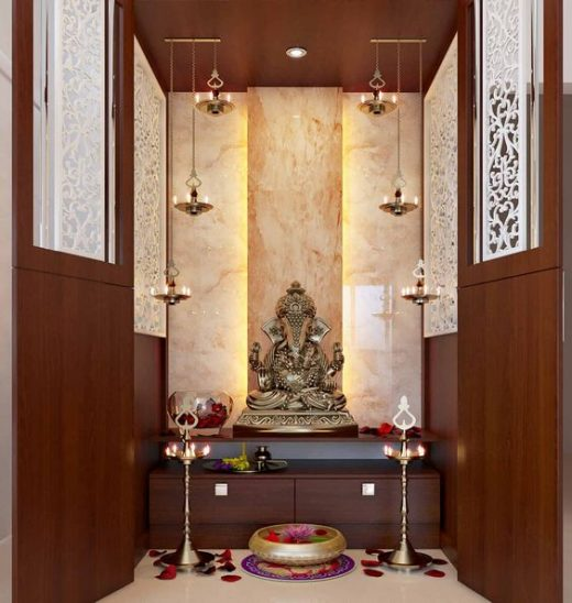 Ideas to decorate pooja room