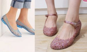 Jelly shoes for monsoon