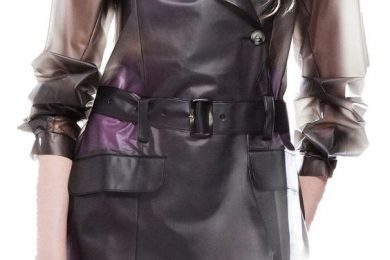 Long trench coat for monsoon