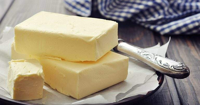 Make salted yellow butter at home without using any food color