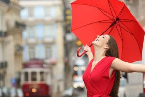 Monsoon fashion tips, use umbrella and raincoat
