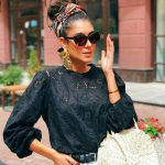 6 Bun Hairstyle You Can Create Using A Scarf For Monsoon