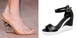 PVC wedges for monsoon