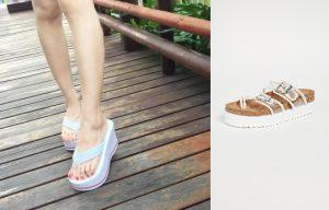 Platform heels for monsoon