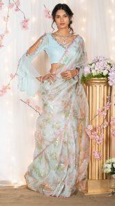 Sleeve ideas for saree blouse
