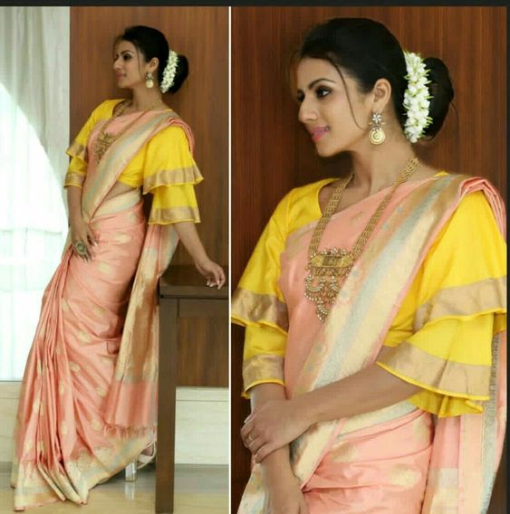 Sleeve ideas for saree blouse