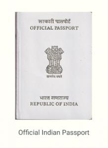 Type S, White Indian passport
