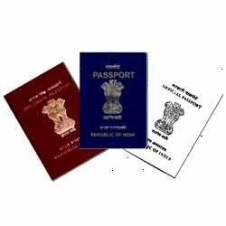 Types of Indian passports